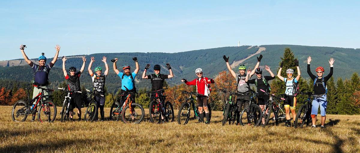 Stoneman Miriquidi Mountainbike MTB Guiding geführte Tour Erzgebirge