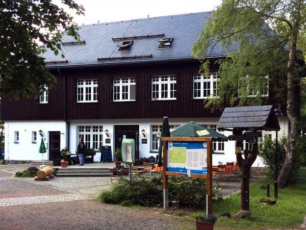 Bürger- und Berggasthaus Scheibenberg, city – Logis-Partner Stoneman Miriquidi MTB